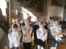 Исповедь и причастие детей православного кружка